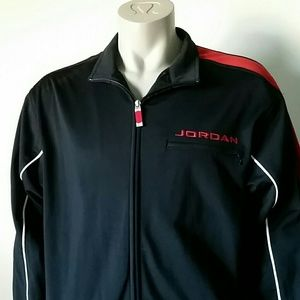 f7f74f9efd46 Air Jordan Jackets   Coats - Air Jordan Mens Track Jacket Zip Up Size XXL